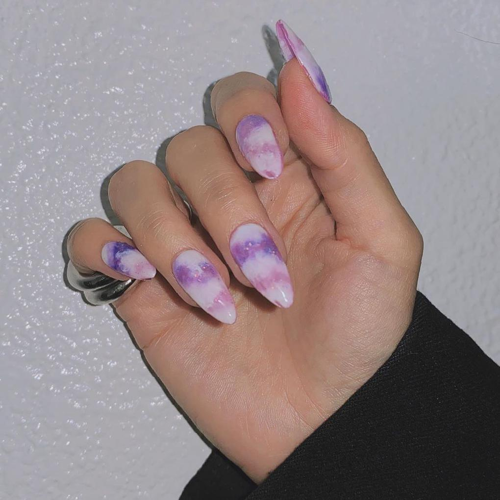 36 Tempting Stiletto Nail Ideas that Will Rock Your World in 2020 stiletto nails,long stiletto nails,nails trendy, stiletto nails art,stiletto nails with glitter,summer nails design,French stiletto nails,ombre stiletto nails,cute stiletto nails